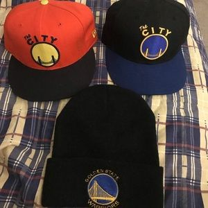 Golden State Warriors Hats and Beanie